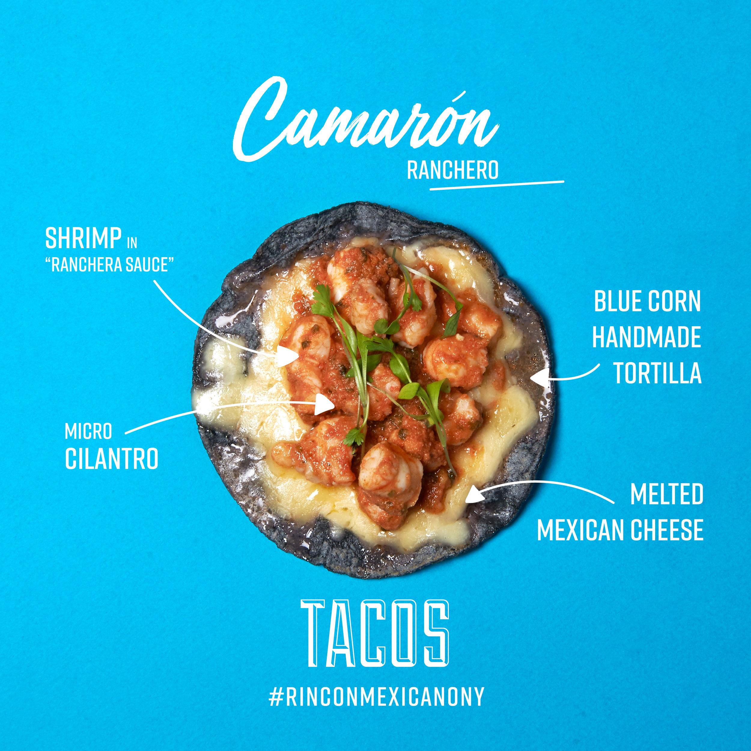 Tacos Camaron Rincon Mexicano New York