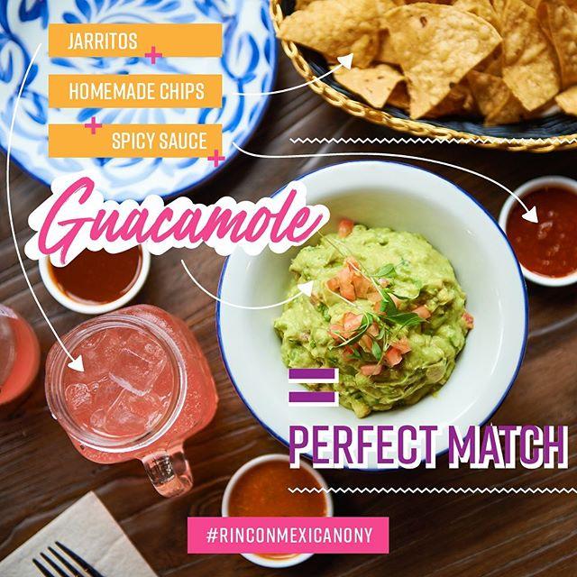 Basics for the #weekend = #chips + #guacamole 🥑 + #spicysauce 🌶+ #jarritos // #rinconmexicano #rinconmexicanony