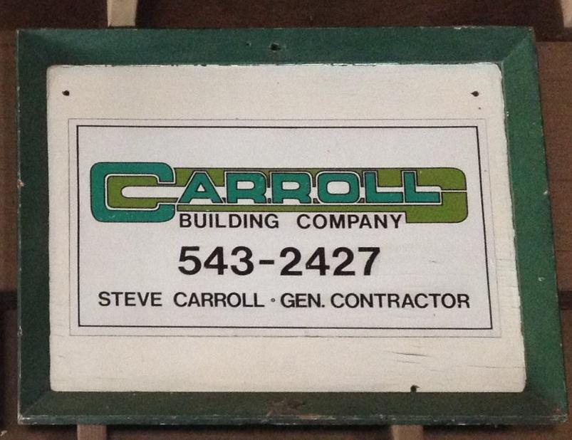 Carroll Building Company, 1978