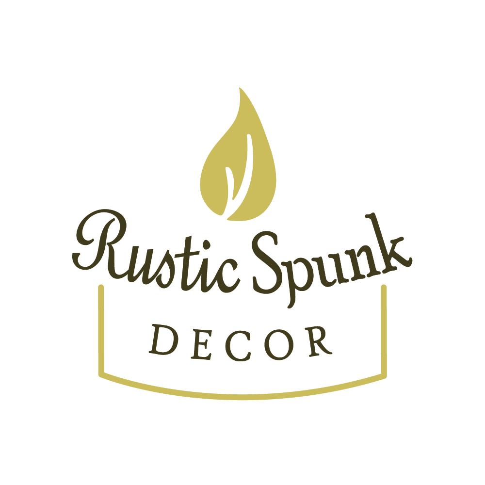 logo design suite for rustic spunk decor