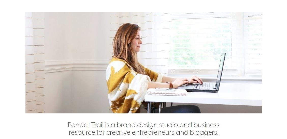 brand intro photo and tagline description