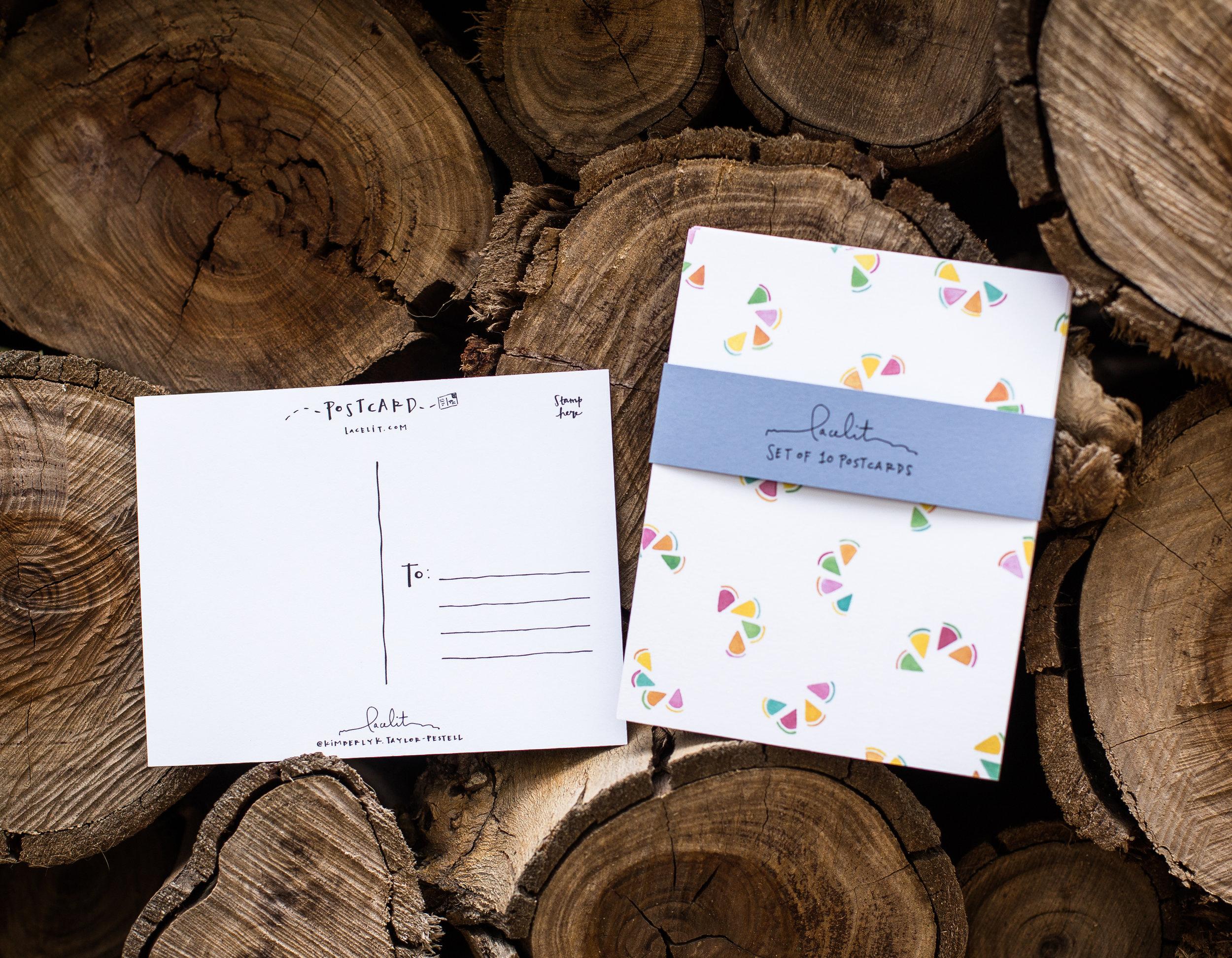 Lacelit Postcards