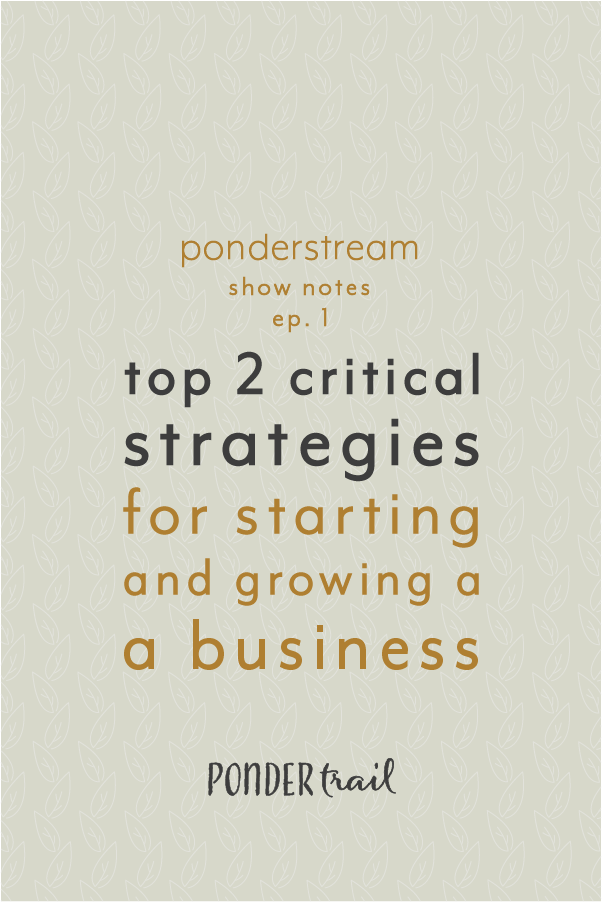 Top 2 Critical Strategies to Consider when Starting and Growing a Business