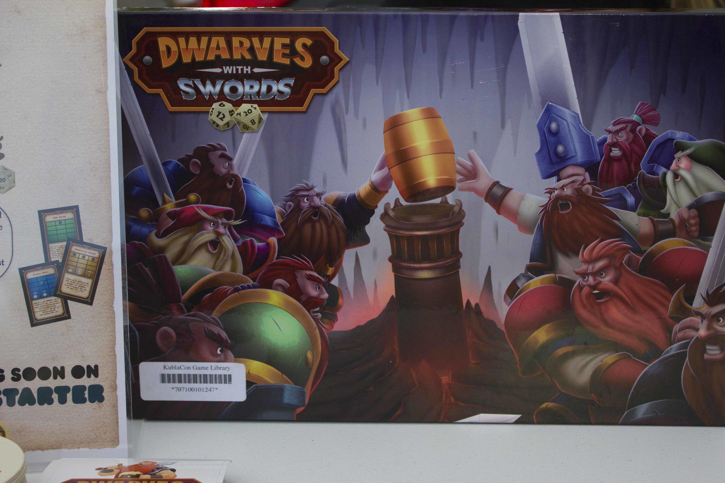 Dwarves with Swords