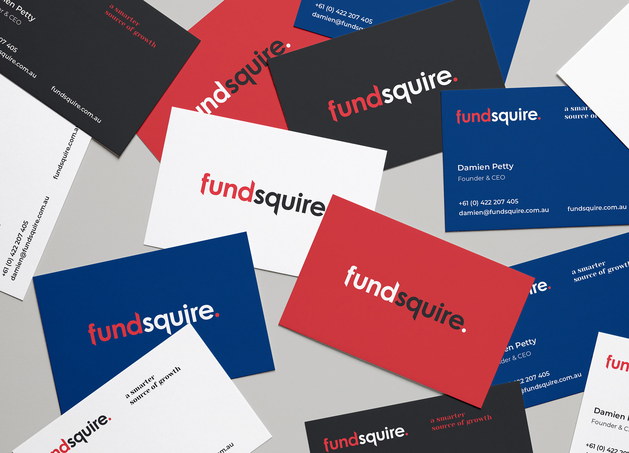 Fundsquire  Naming | Brand Strategy | Brand Identity | Web Design & Development