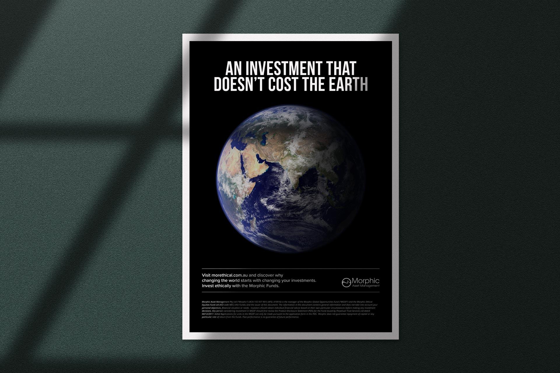 Morphic Asset Management        Art Direction | Media | Campaign Launch