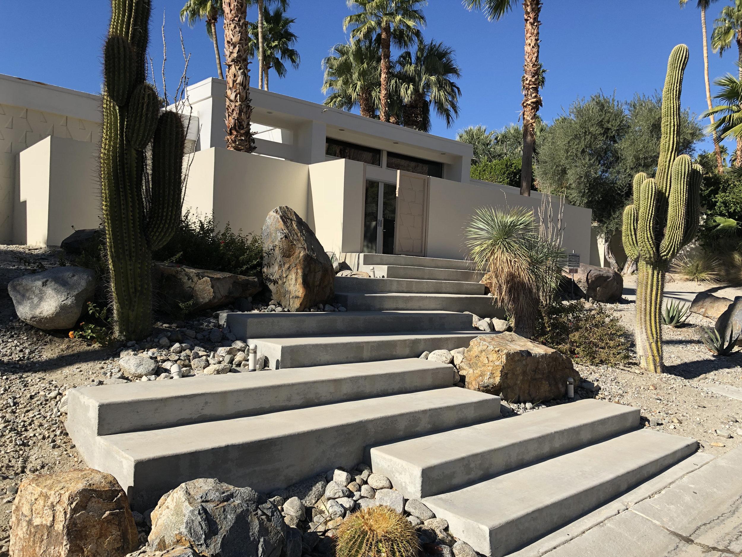 Modern Desert Entry - Scottsdale, AZ