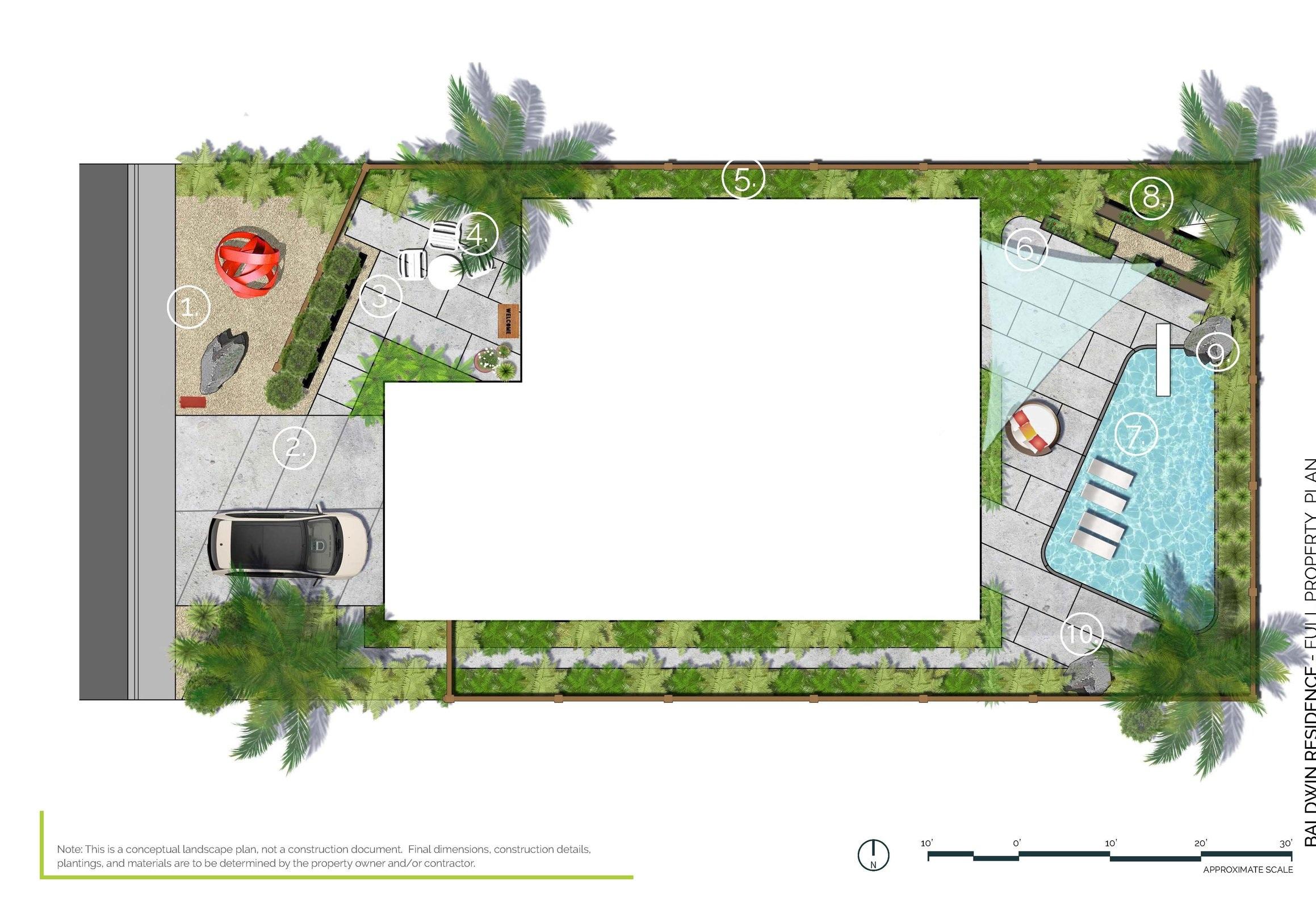 Palm Desert Modern - Full Property PlanPalm Desert, CA