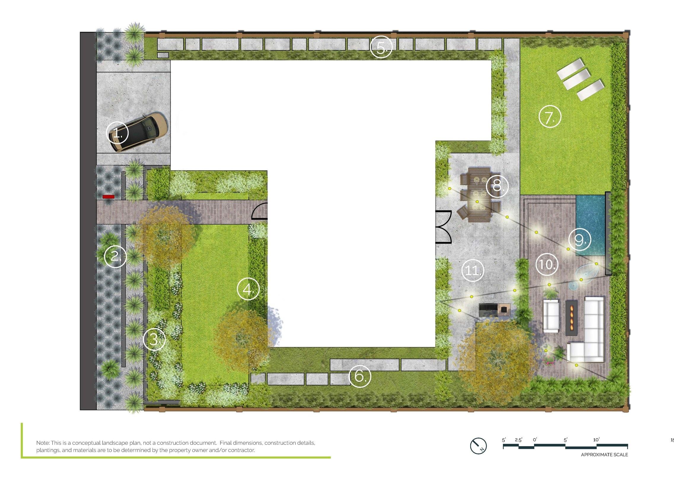 Outdoor Living - Full Property PlanAustin, TX