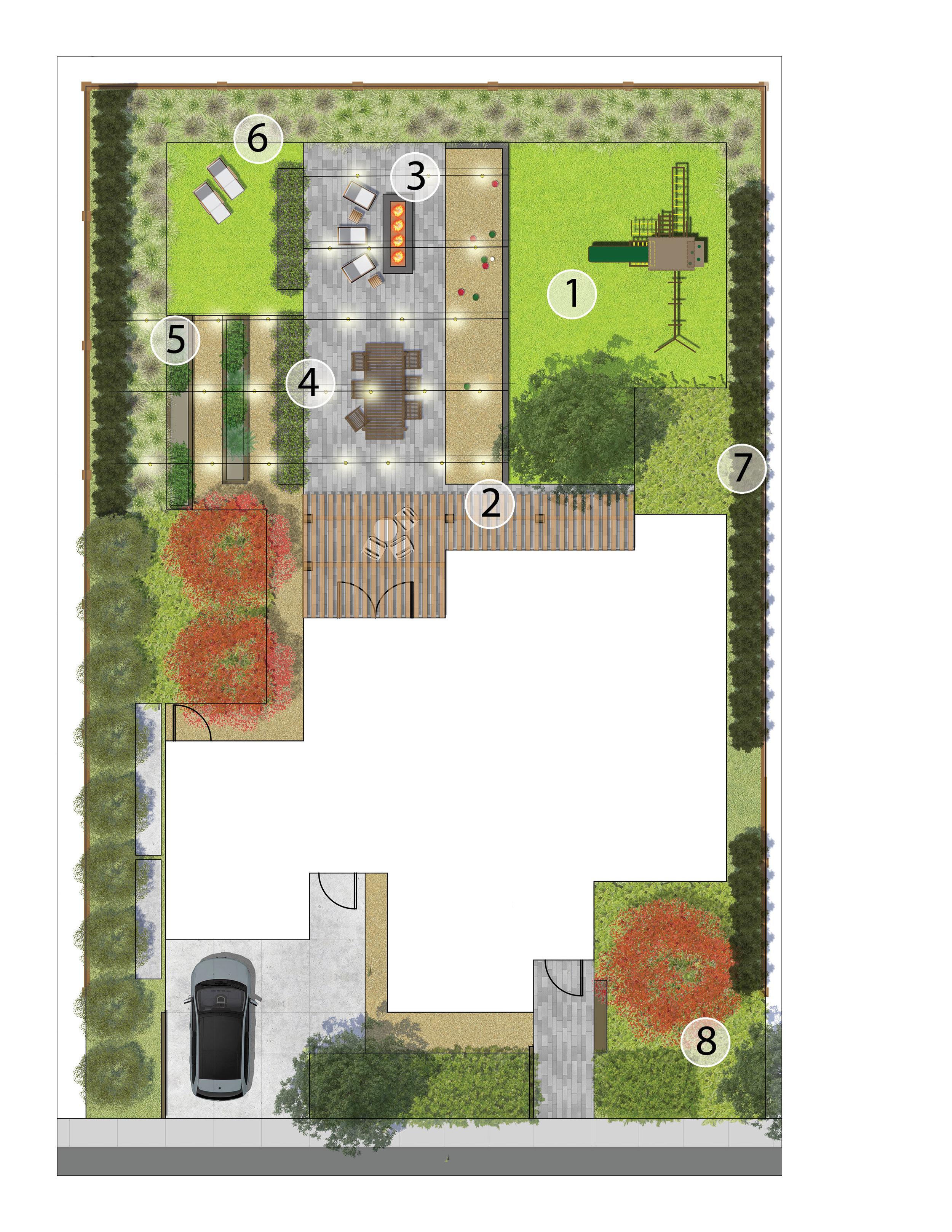 Landscape Design Bocce