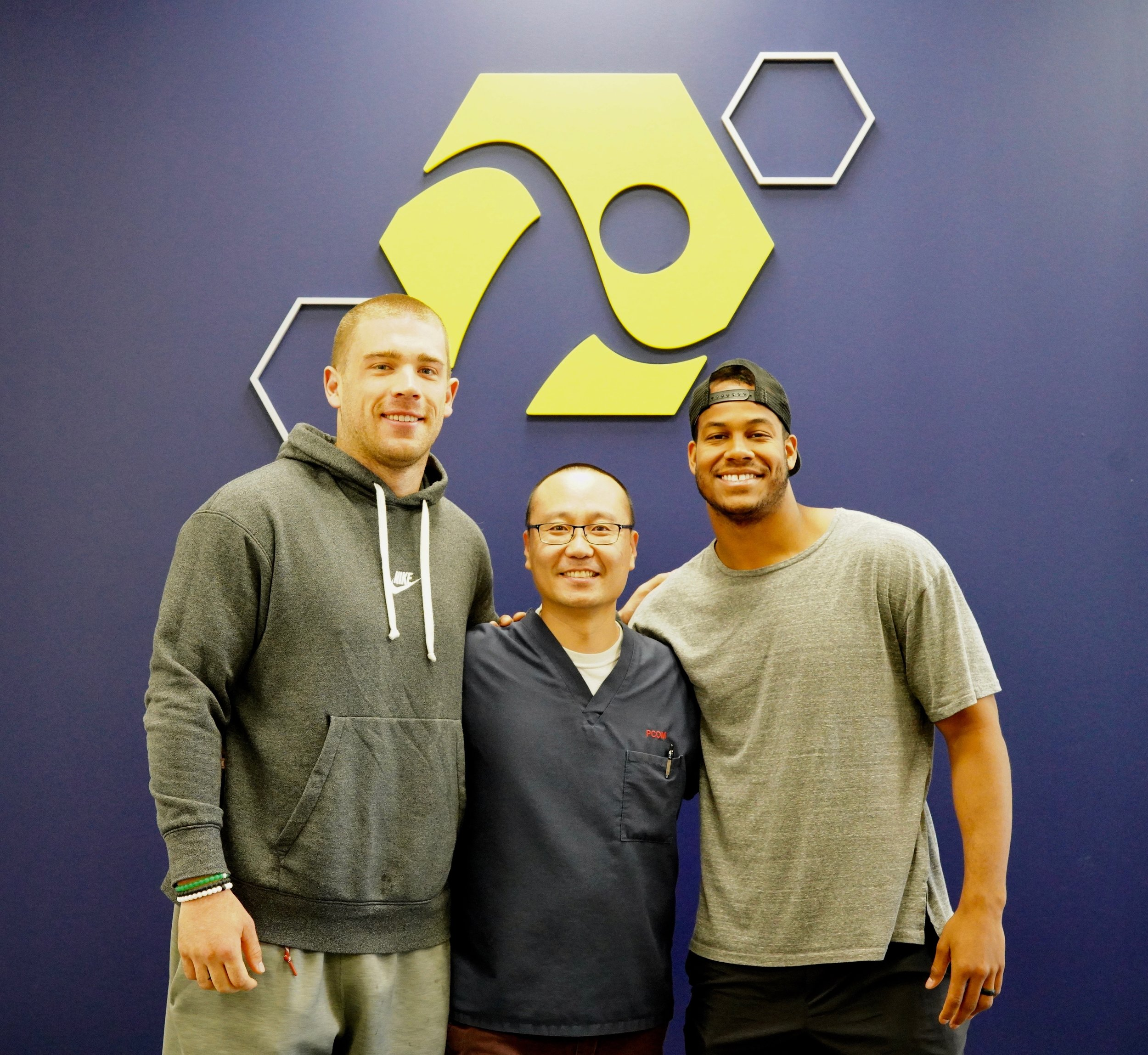 Ertz & Hicks with Dr.Shin
