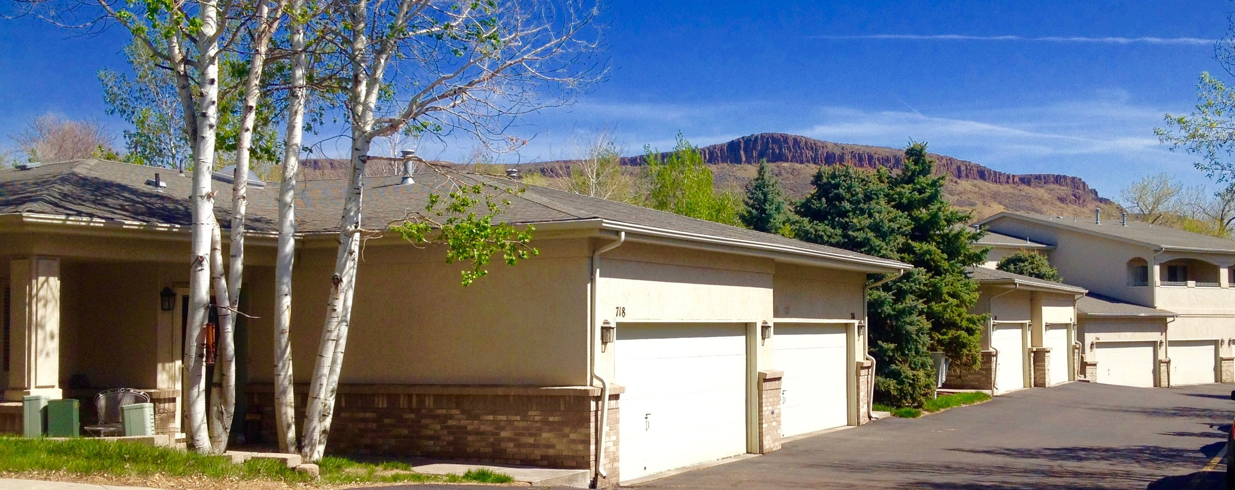 Briarwood Commons Townhomes are within walking distance to shops and restaurants in downtown Golden, Colorado
