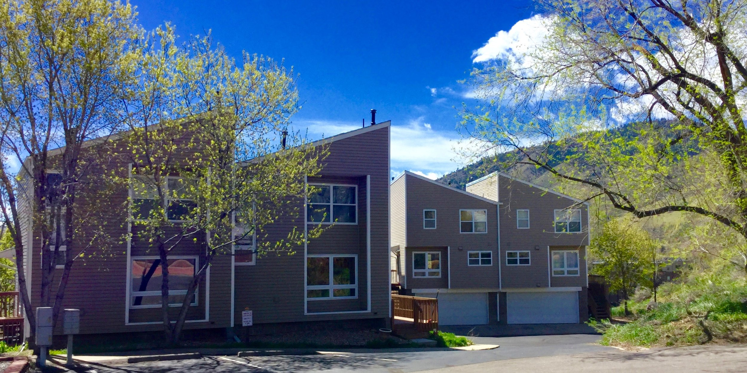 8 gorgeous Townhomes overlooking Lions Park and downtown Golden, Colorado