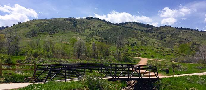 Numerous Jefferson County Open Space trail heads originate in Golden, Colorado