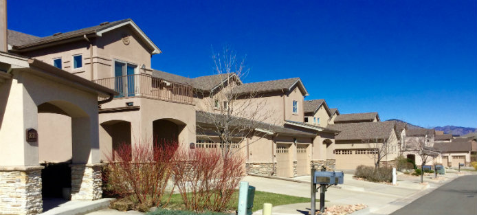 Fossil Court Village is a highly sought after townhome community in Golden, Colorado