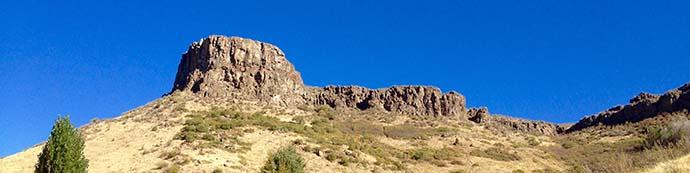 Castle Rock in Golden, Colorado