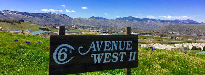 Sixth Avenue West Townhome community is surrounded by greenbelts and is adjacent to open spaces and some wonderful hiking and biking trails.