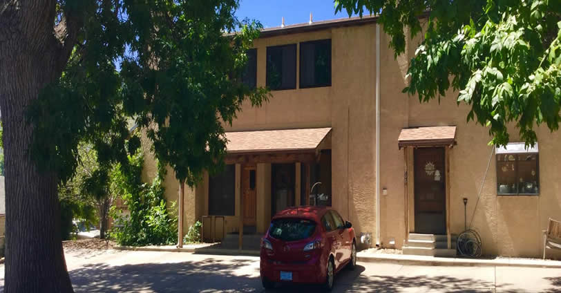 Sunlite Townhome community is situated in a very quiet section of downtown Golden, Colorado