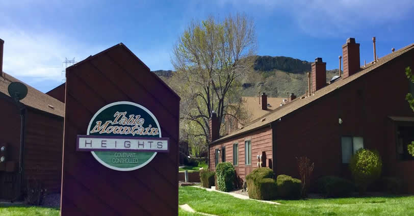Table Mountain Heights Townhomes is a 96 townhome community located at the northern slope of North Table Mountain in Golden, Colorado
