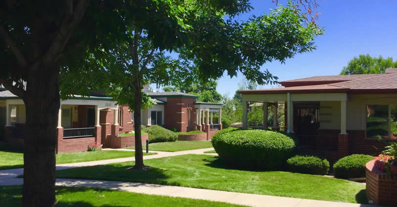 Ulysses Senior Community offers one and two story townhouse style living in a central location near downtown Golden, Colorado