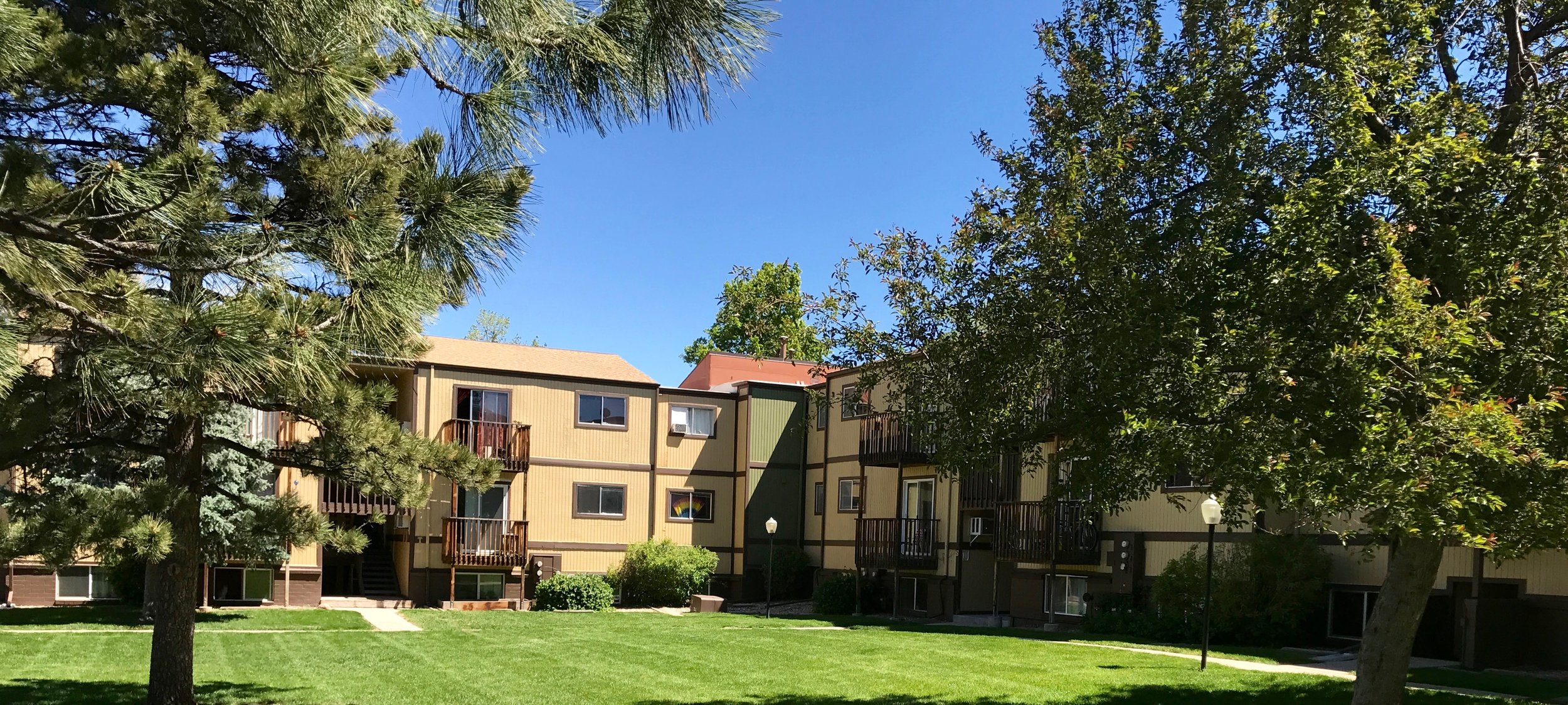 The Golden Pines Condo community is just minutes away from downtown Golden, Colorado
