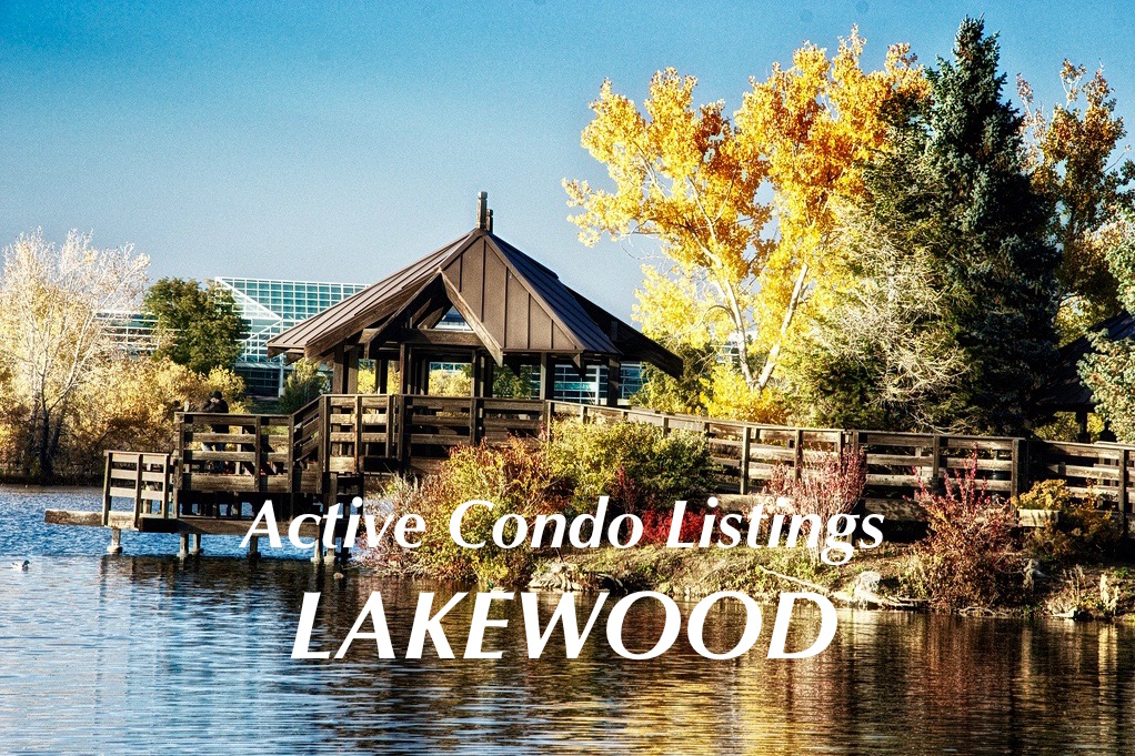 Lakewood Condos for Sale - Just Listed