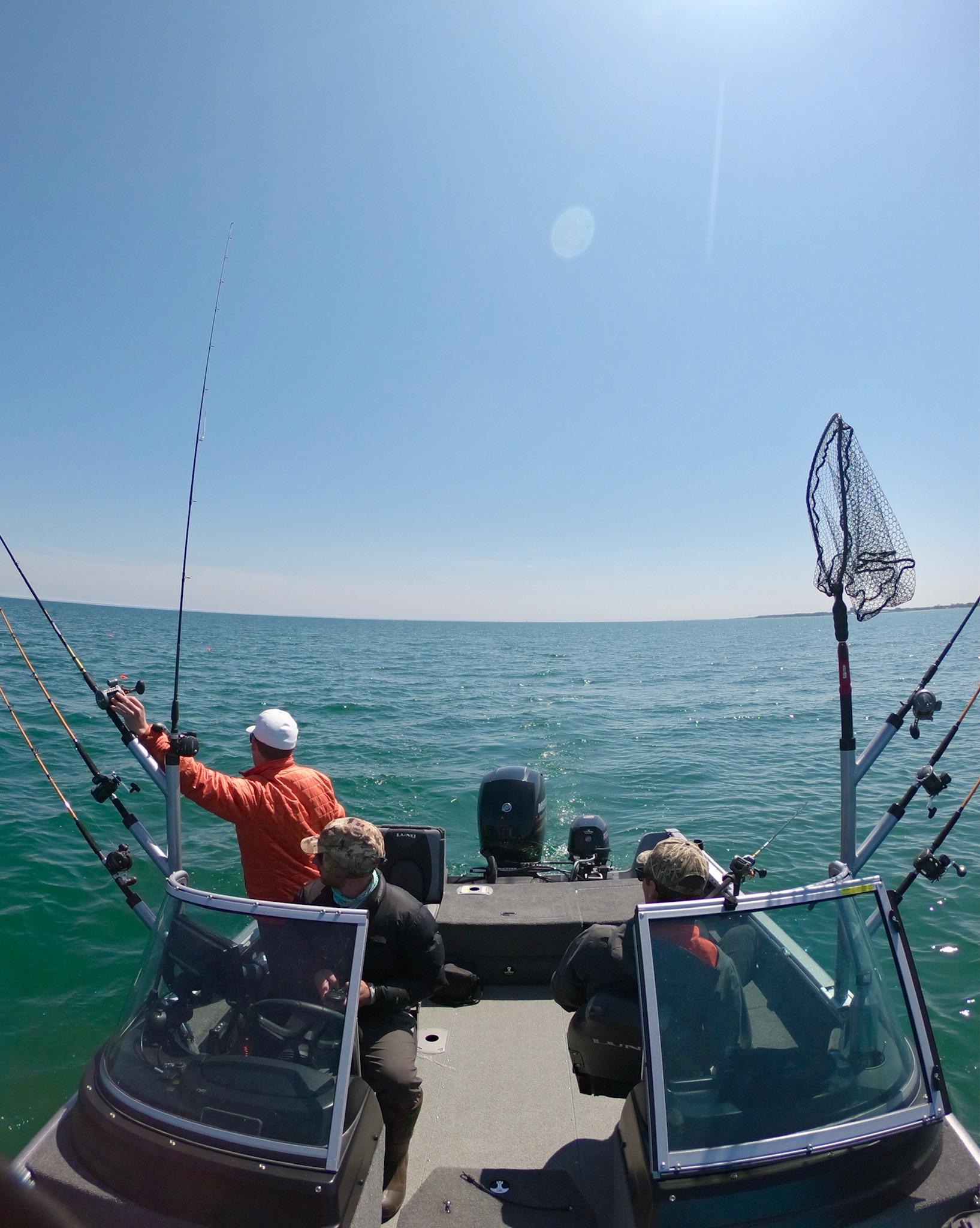 Salmon Charter Boat