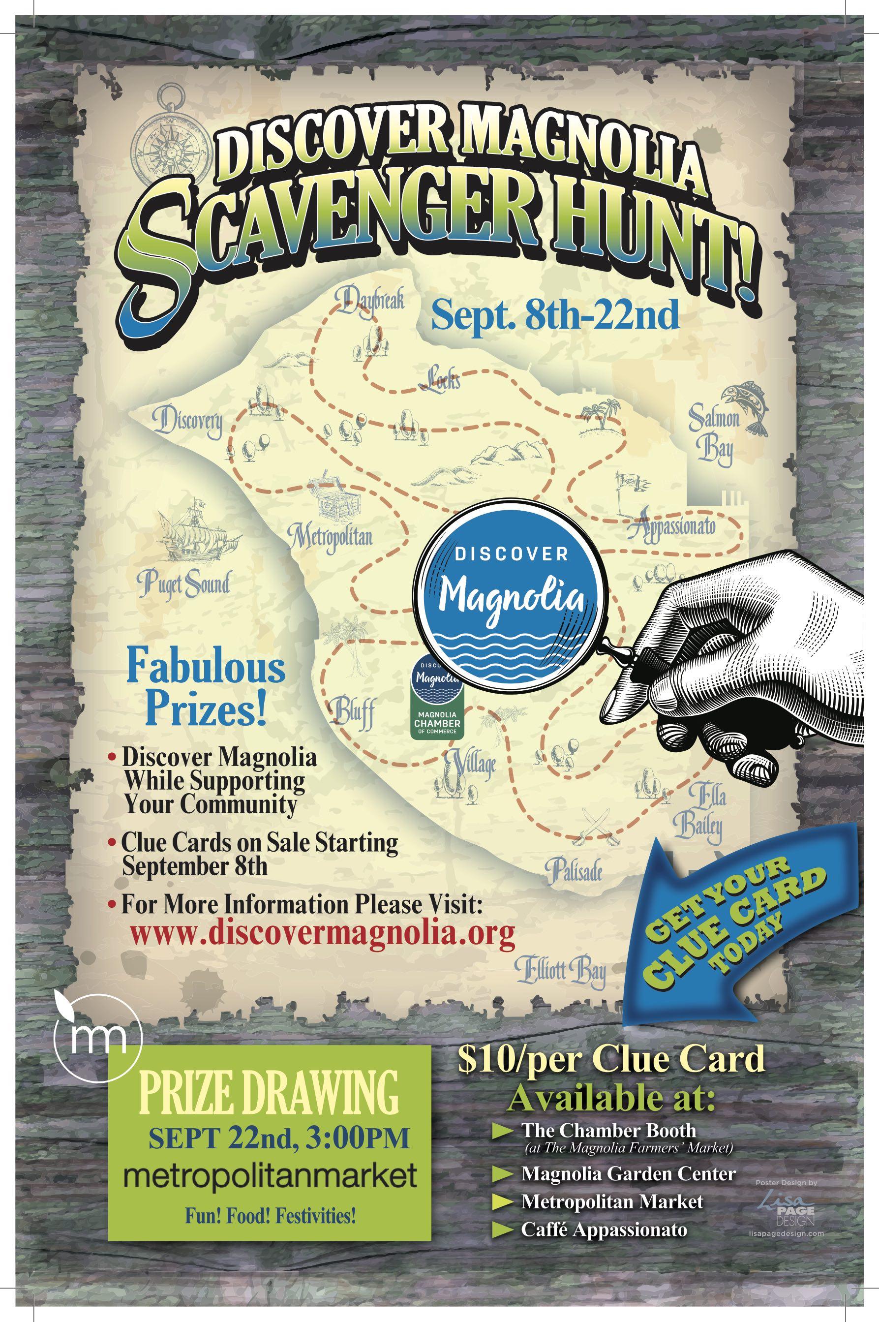 2018 Scavenger Hunt Poster