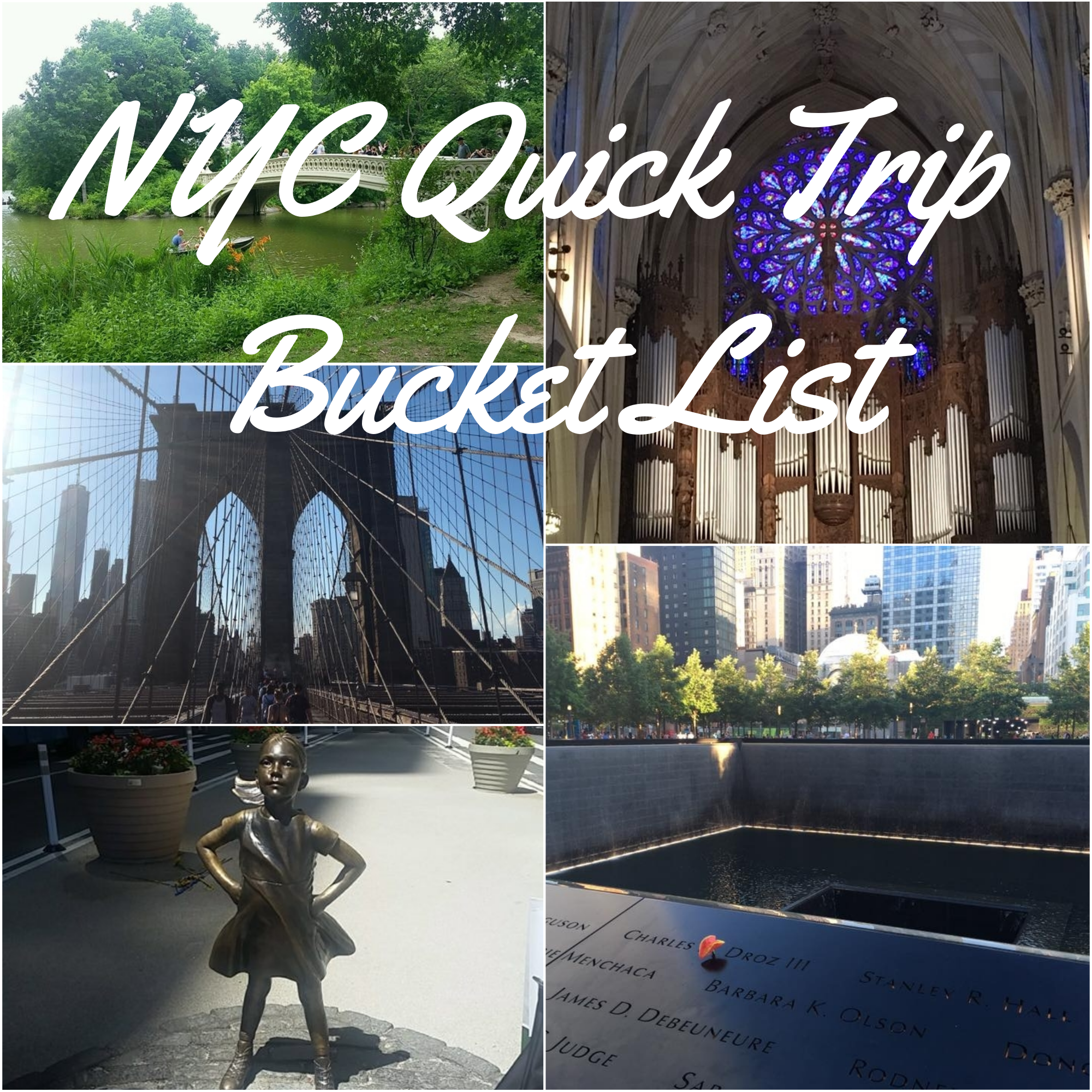 You can fit so many iconic NYC experiences into a quick trip to the Big Apple.