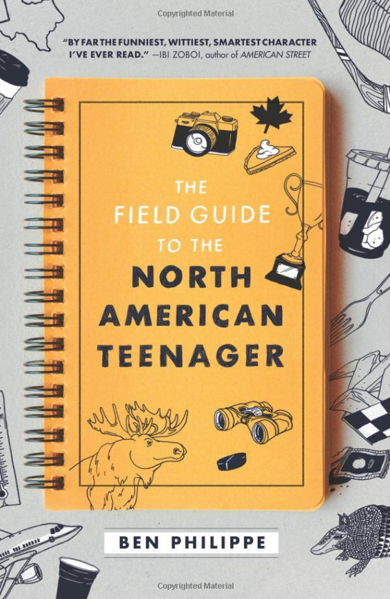 "The Field Guide to the North American Teenager - Think Mean Girls meets 10 Things I Hate About You. Norris is a French Canadian who moves to the very foreign Austin, Texas. His ""field notes"" explore habits and culture of the typical U.S. teenager with biting sarcasm and heartbreaking introspection. It hurts so good."
