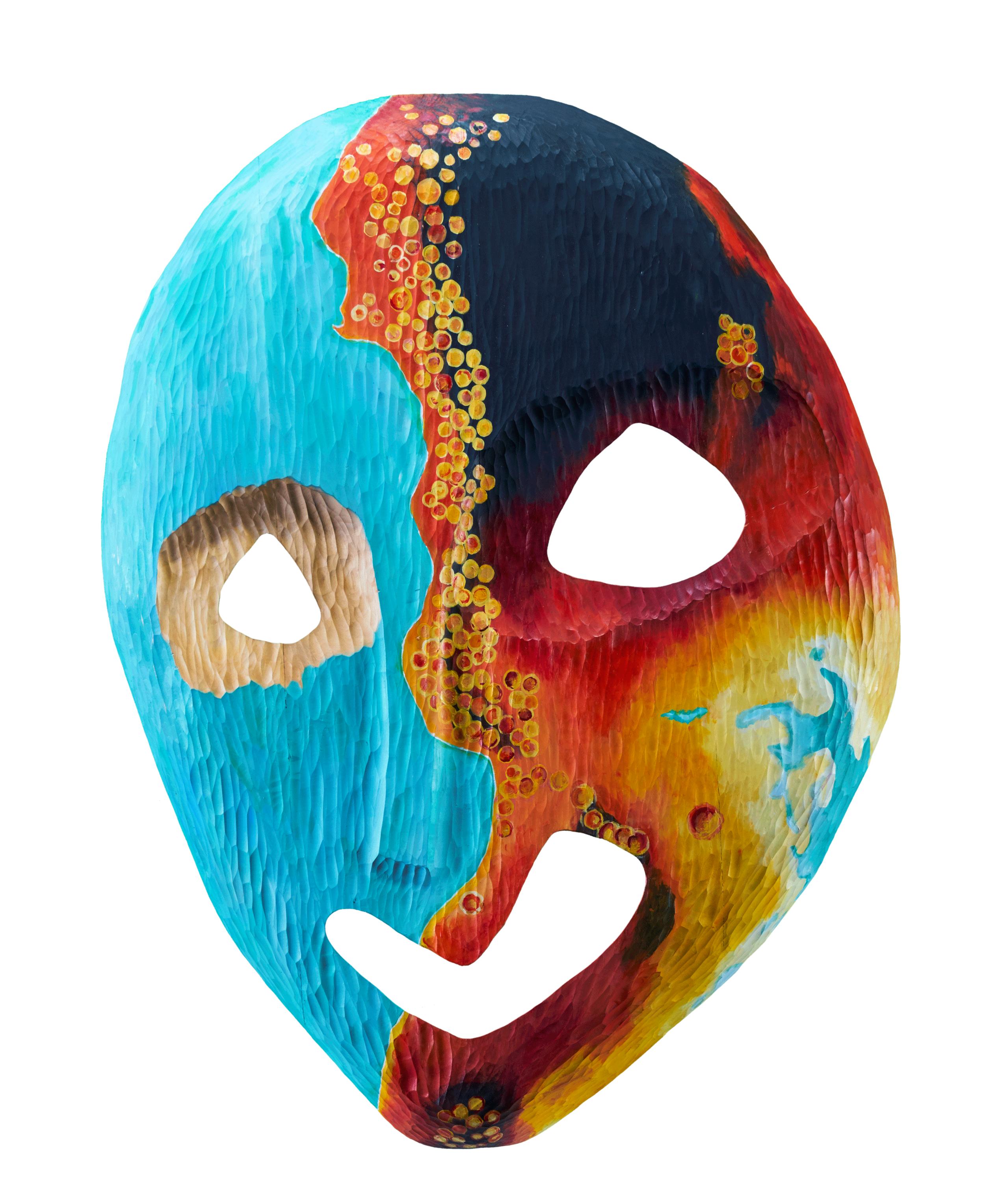 Hepatitis Mask frontview