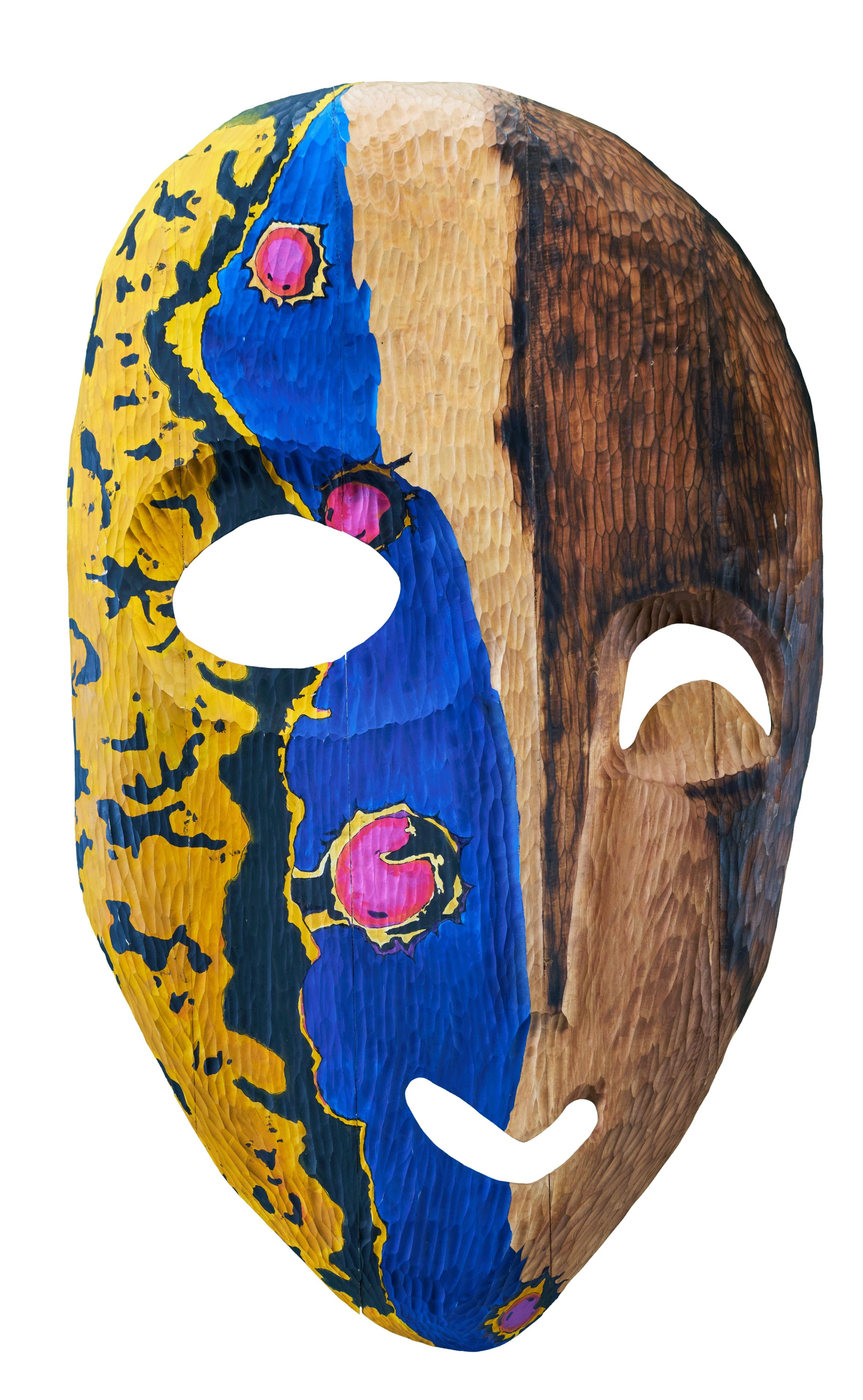 H.I.V. Mask frontview