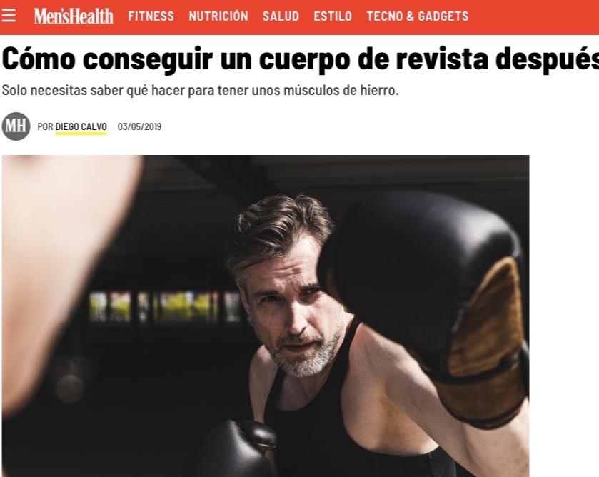 Men's Health - Rutina para lucir bien después de los 40.
