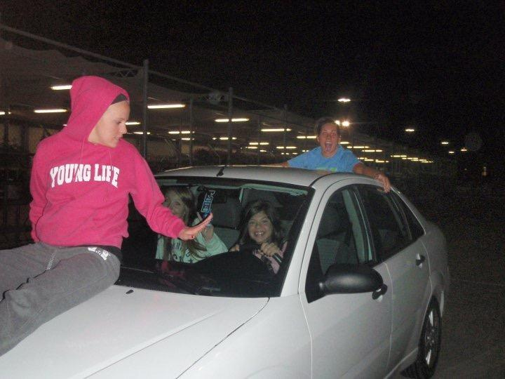 PHOTOgraphic evidence of said walmart parking lot incident