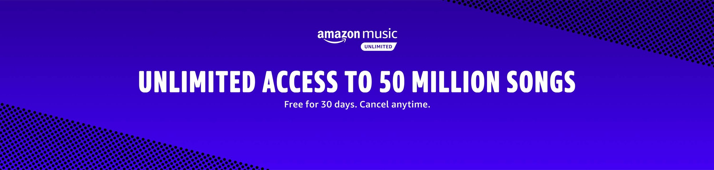 Prime subscriber? Check out Amazon Music Unlimited. Free versions available for Prime members and Spotify/Apple music alternative paid plans available after your free trial.  Sign up on Amazon.