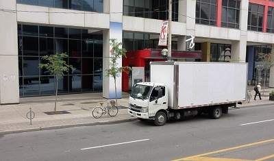 Trucks delivery direct to your door -