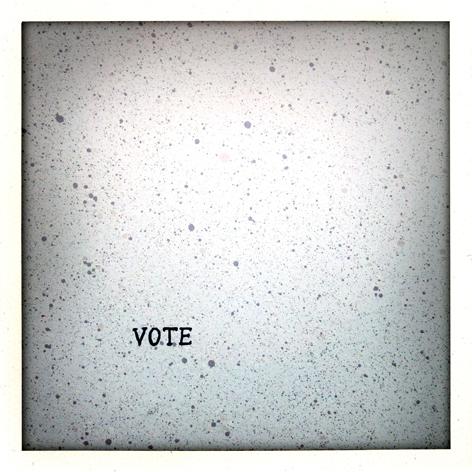 Political folio: detail of Jake Holmes' print