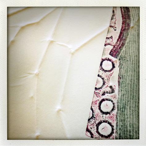 Skin Deep folio: detail of Nadia Caon's print