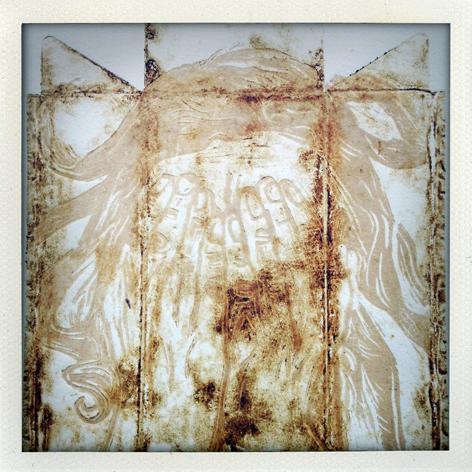 Skin Deep folio: detail of Robyn Finlay's print