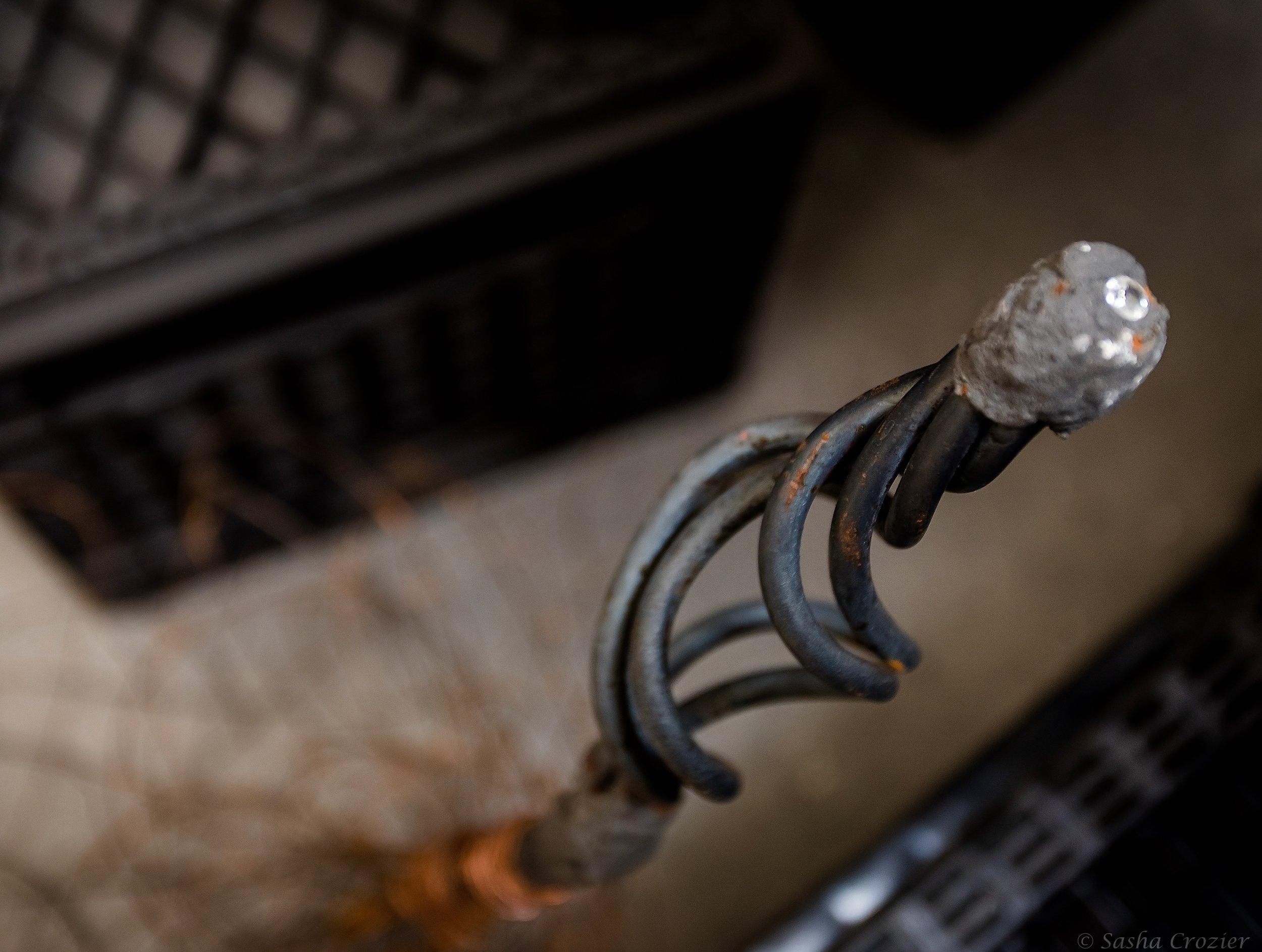 Diamond Broom (handle, detail)