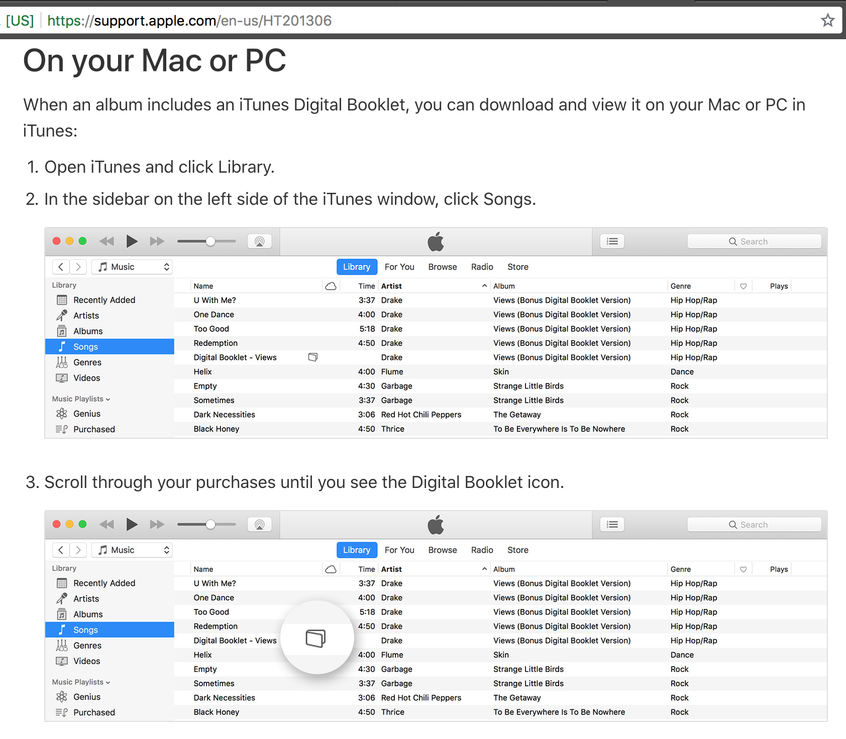 Seriously? Do you have any idea how many songs are in my iTunes library? (Wait... Apple probably knows exactly how many songs are in my library...)
