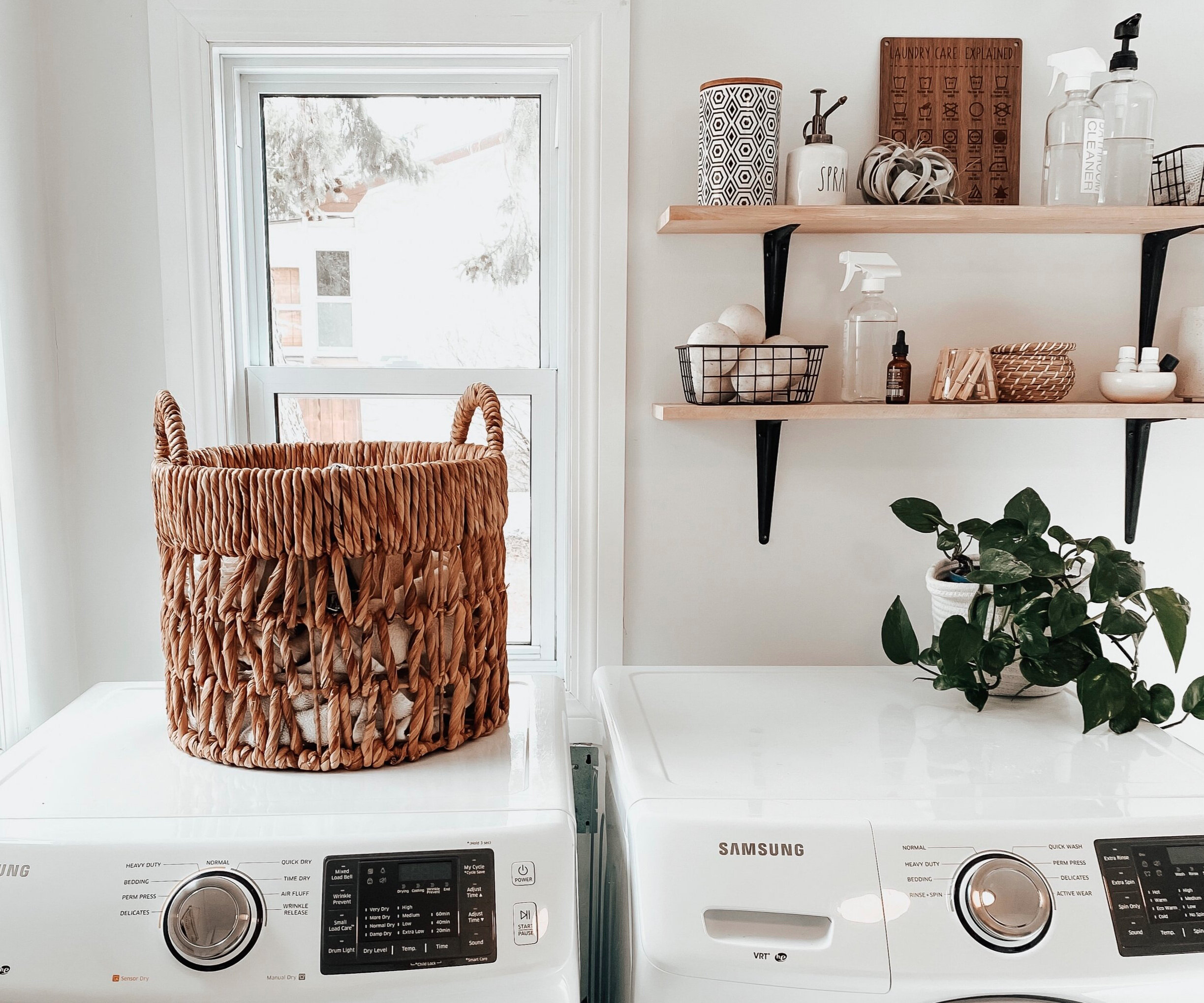 Shelf Decor 5 Things To Include In Your Laundry Room Design On Her Mind