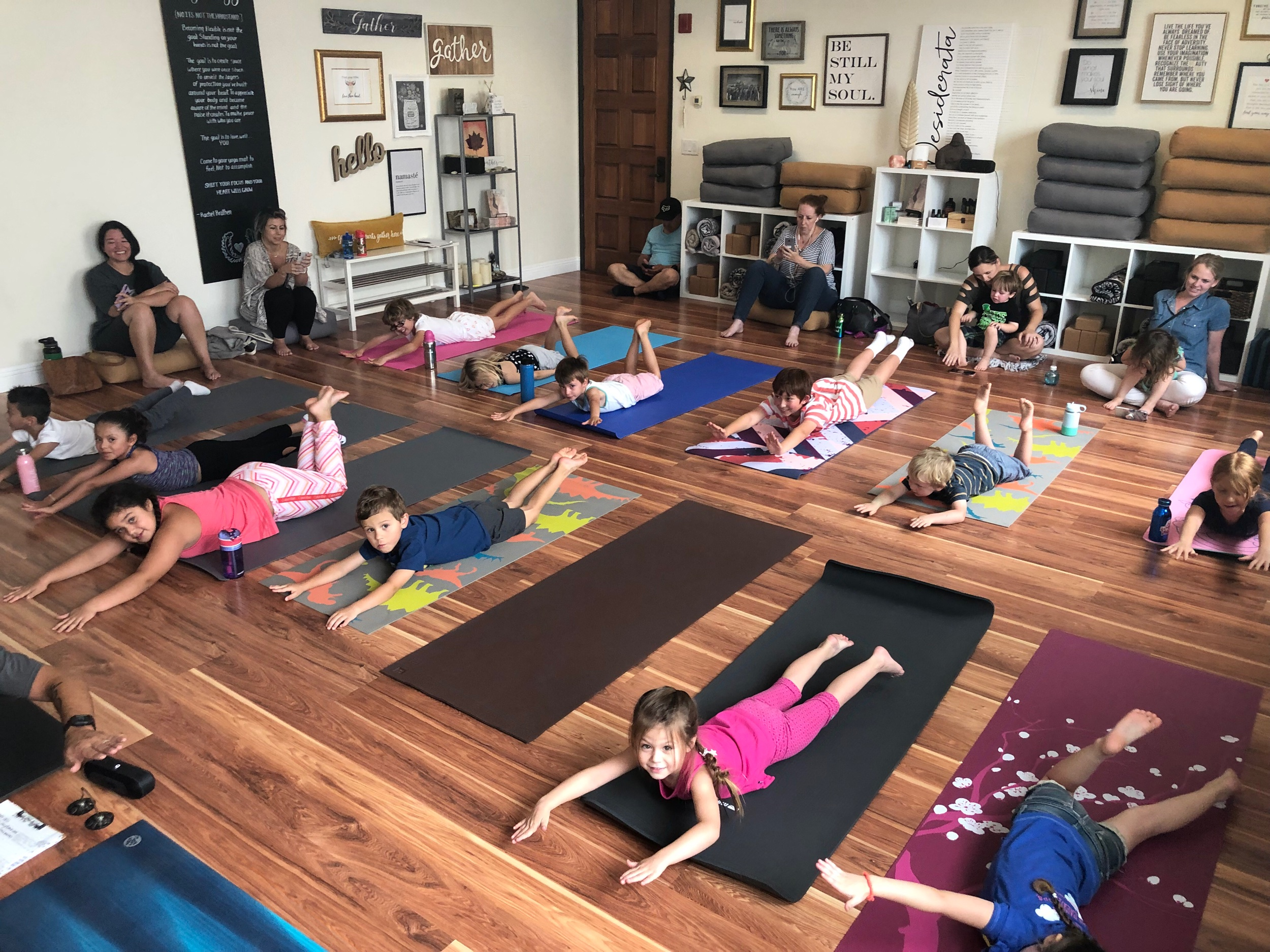 Harvest Festival 2 Hour Yoga Pop Up Saturday, October 19