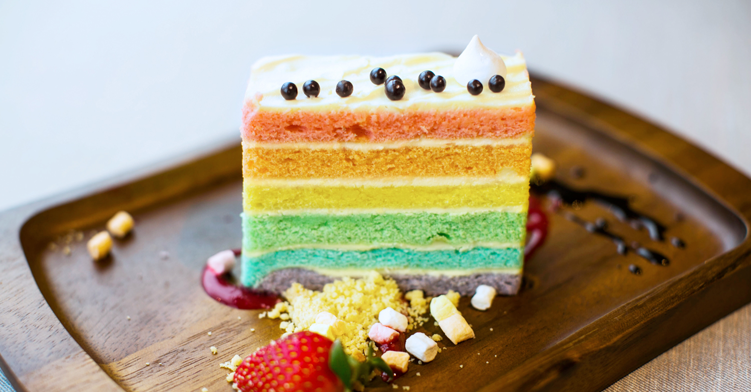 Events Coworking The Dining Hall - Pastries - Rainbow Cake.jpg