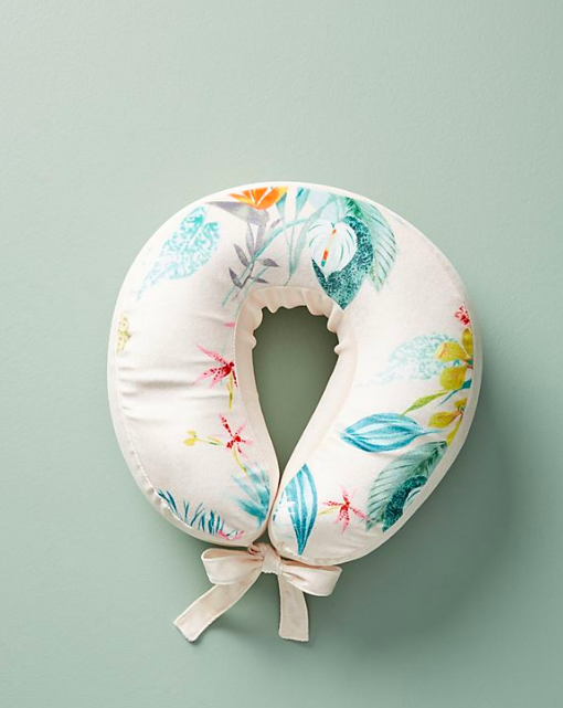 ANTHROPOLOGIE NECK PILLOW