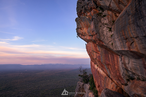 Climber on The Man Who Sold the World (25) - Grampians