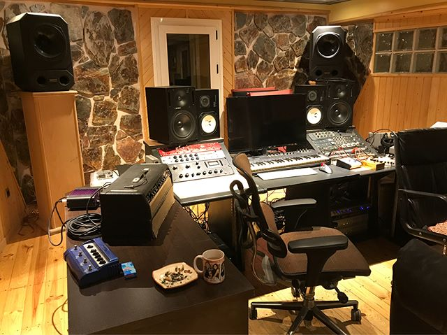 """Tons of beautiful #neve gear. My choice of monitoring. #telefunken251 to a neve to an vintage 1176. Room was big but controlled. #fender and #Gretch 60's guitars laying around everywhere. 2"""" tape in the machine room. Manu who I met last year with @sirgregwells treated me amazing. Just when you think you know what you're doing amazing people step into your life and teach you so much. I can't express how important it is to put your ego aside and listen to people. Everyone has amazing ideas and the amount you can learn from just closing your mouth and listening is unreal. Keep your ego in check and your ears open. You won't regret it."""