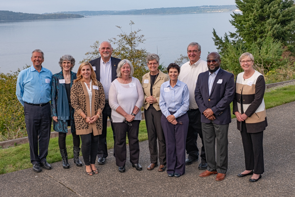 Current and past SCC Board Chairs at the 25th Anniversary Celebration