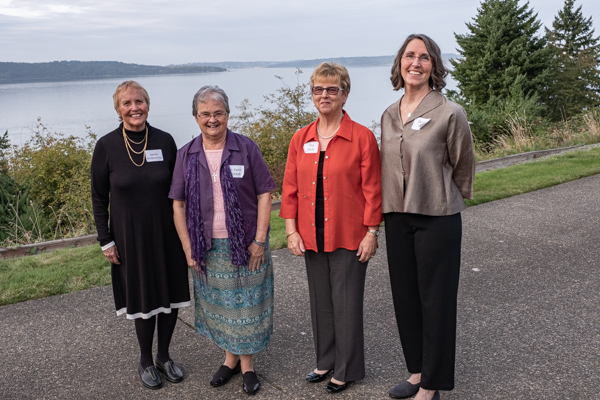 Current and past SCC Executive Directors at the 25th Anniversary Celebration