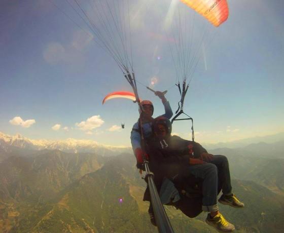 Bir Paragliding  - Baptism Flight